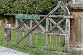 istock Old Wooden Gate 1048285726