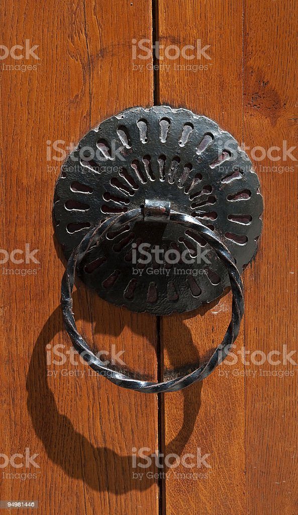 Old wooden gate royalty-free stock photo