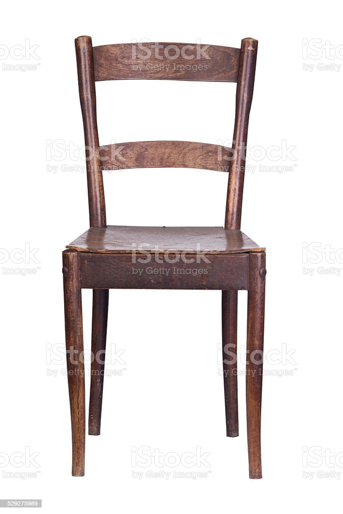 Old Wooden Kitchen Chair Stock Photo Download Image Now Istock
