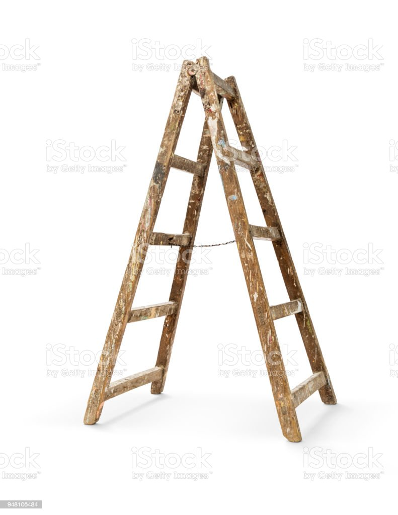 Old Wooden Ladder Stock Photo Download Image Now Istock