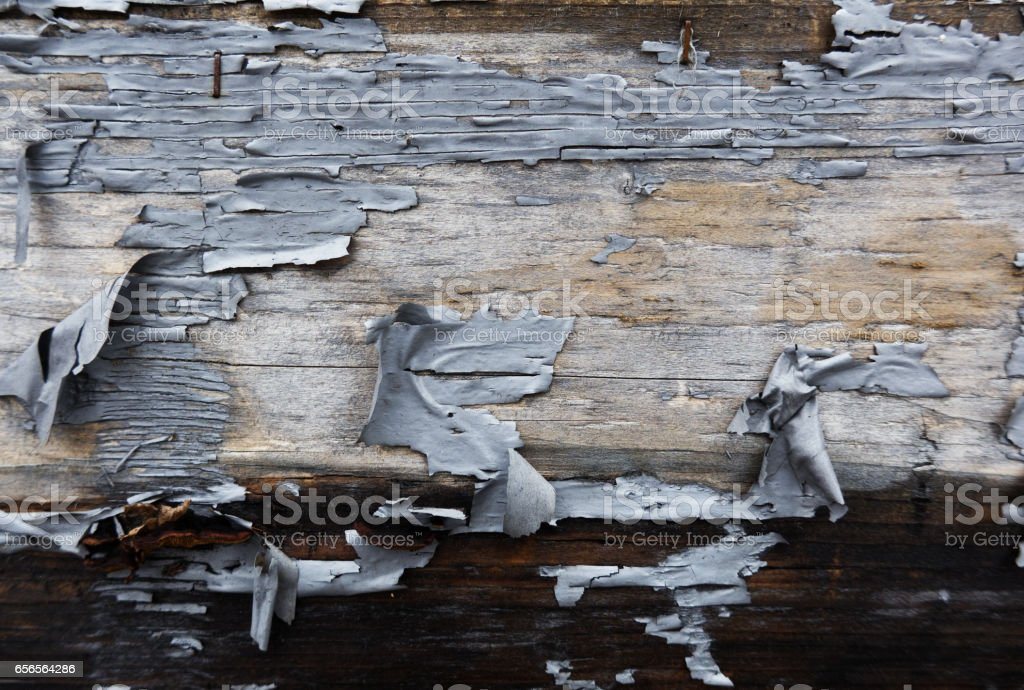 old wooden painted wall stock photo