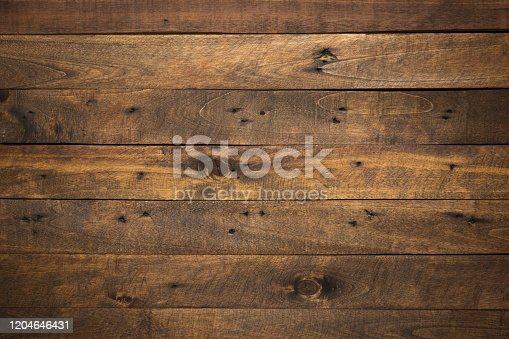 istock Old wooden pallet plank texture background 1204646431