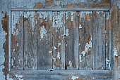 istock old wooden panel with peeling paint in frame mockup 1209181239