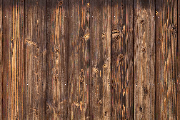 old wooden planks background - knotted wood stock pictures, royalty-free photos & images