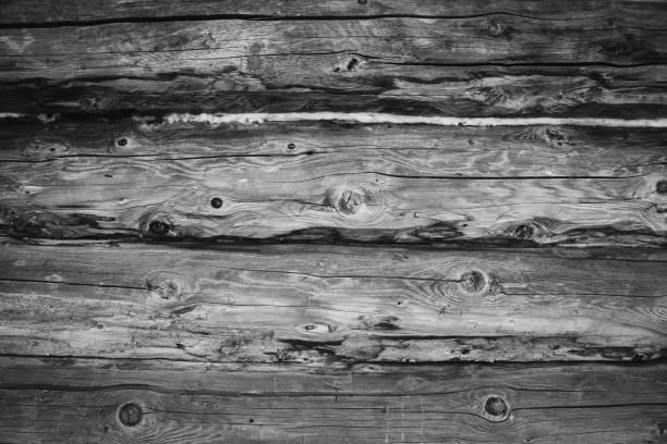 alte hölzerne planken wand als hintergrund - stockwerke des waldes stock-fotos und bilder