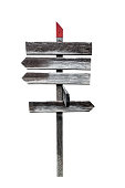 istock old wooden signpost 1264097043
