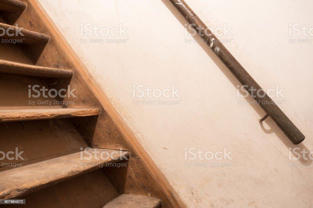Old wooden Treppe – Foto