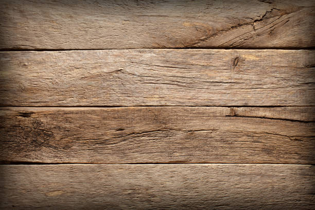 Old wooden texture as background. stock photo