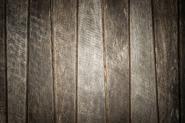 old wooden texture column background stock photo