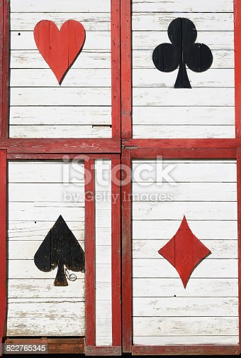 894368086 istock photo Old wooden wall 522765345