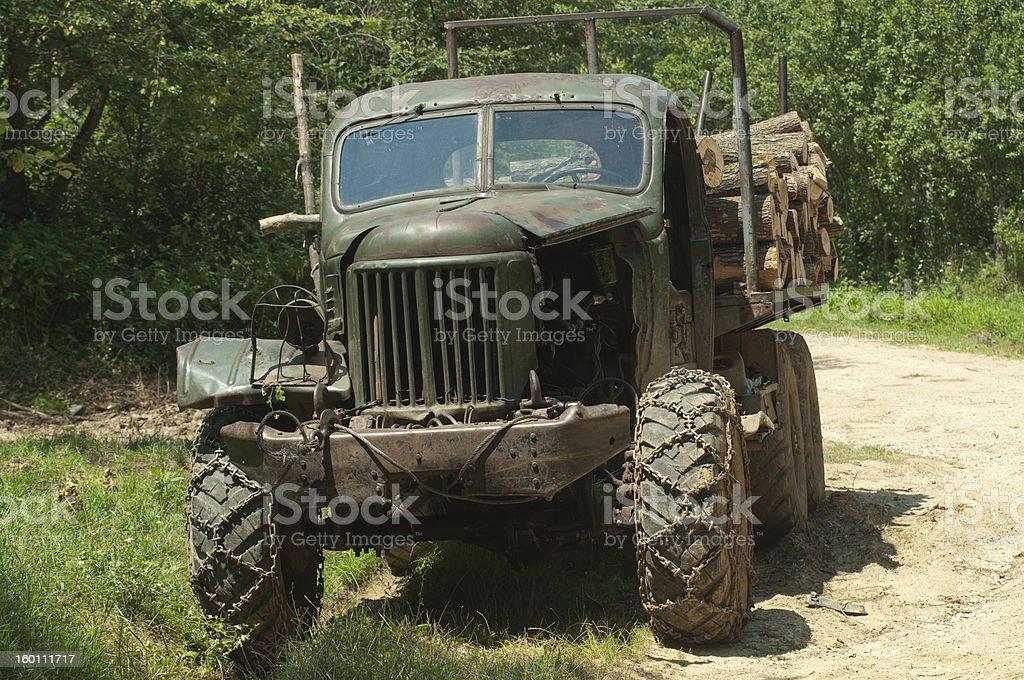 still working old truck