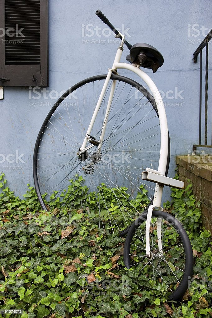 Old World Bicycle stock photo