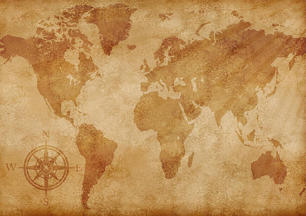 Royalty free old world map pictures images and stock photos istock old world map illustration stock photo gumiabroncs Gallery