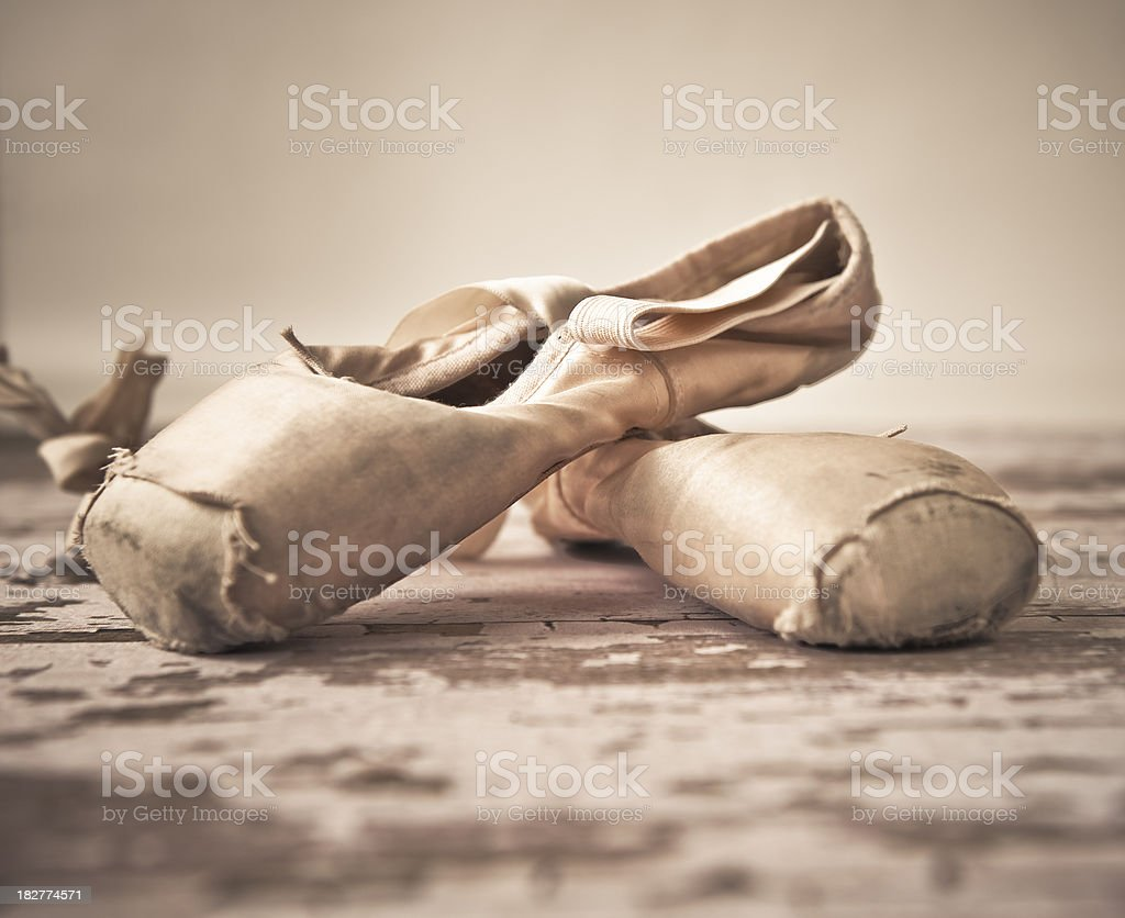 royalty free old ballet shoes pictures images and stock