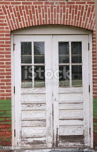 Old worn out door