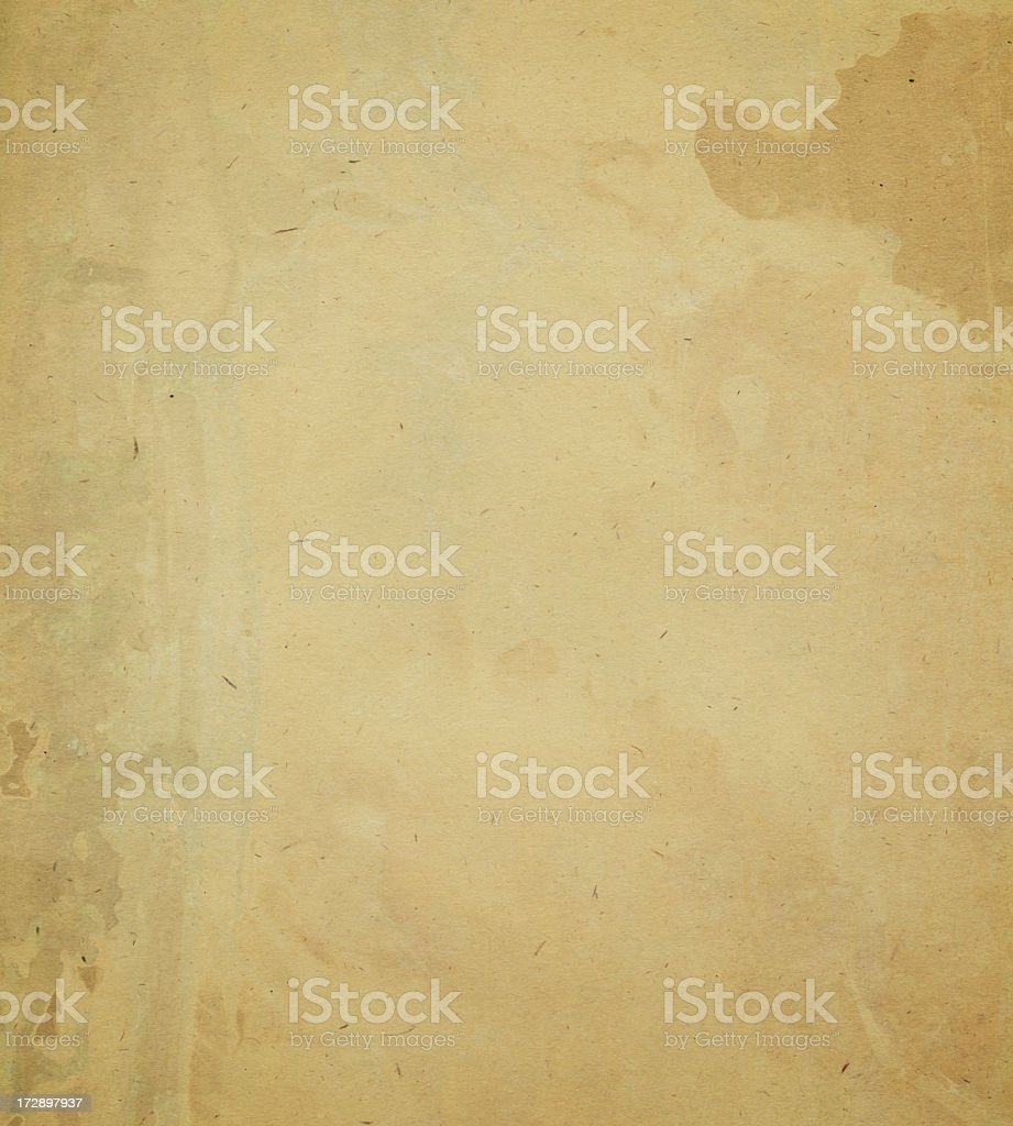 old worn paper with stain royalty-free stock photo
