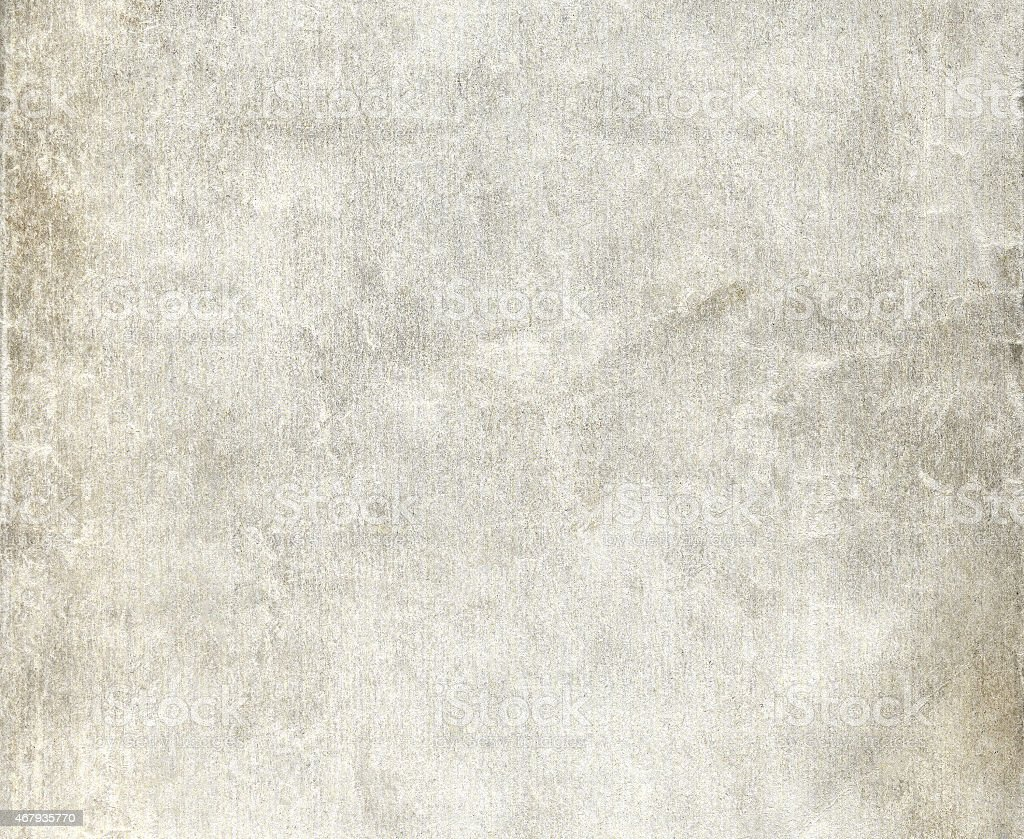 Old wrinkled dirty grey paper sheet stock photo