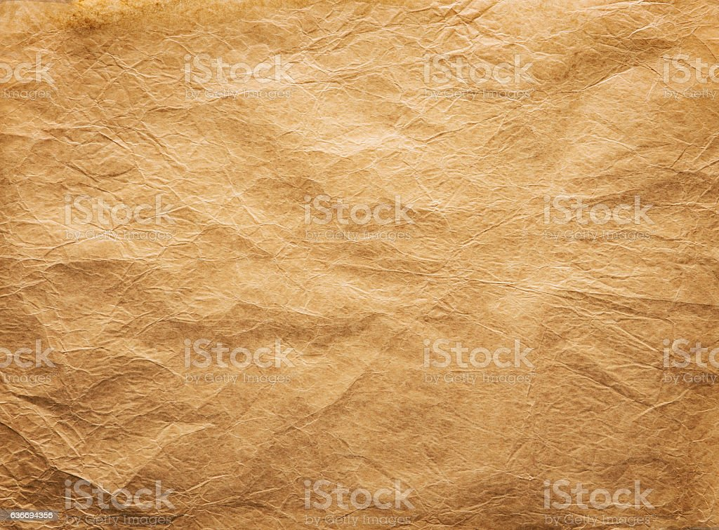 46926322d467 Old Wrinkled Paper Background Papers Folds Wrinkles Brown Parchment ...