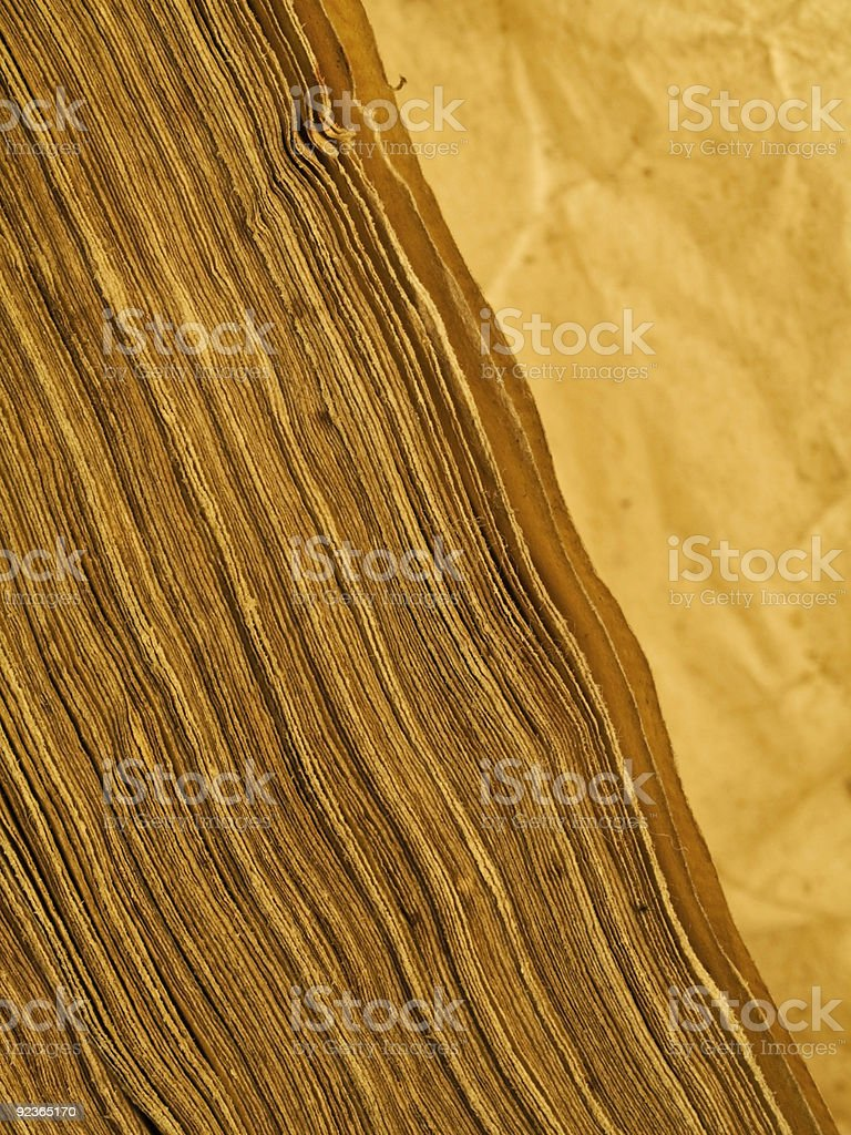 Old writings royalty-free stock photo