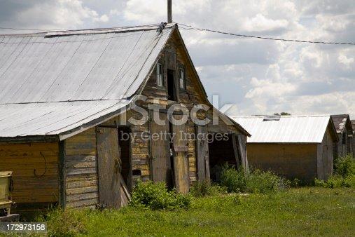 istock Old Yellow Barn 172973158
