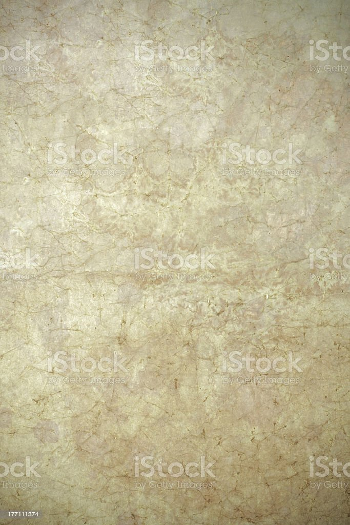 Old yellow paper background royalty-free stock photo