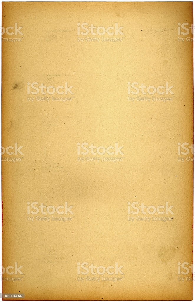 old yellow paper royalty-free stock photo
