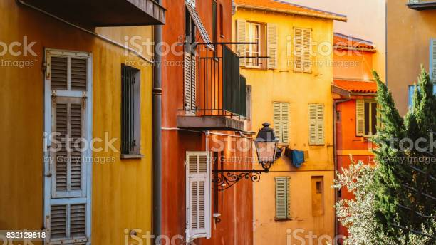 Old Yellow Wall In Marseillefrance Stock Photo - Download Image Now