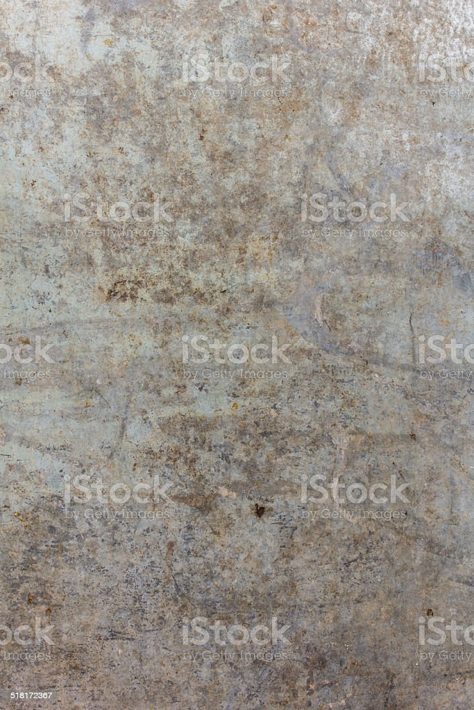 Old Zinc plate surface stock photo
