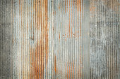 Old zinc texture background, rusty on galvanized metal surface.