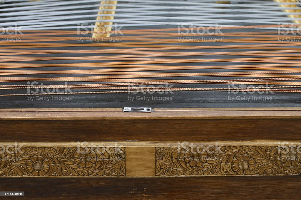 old zither stock photo