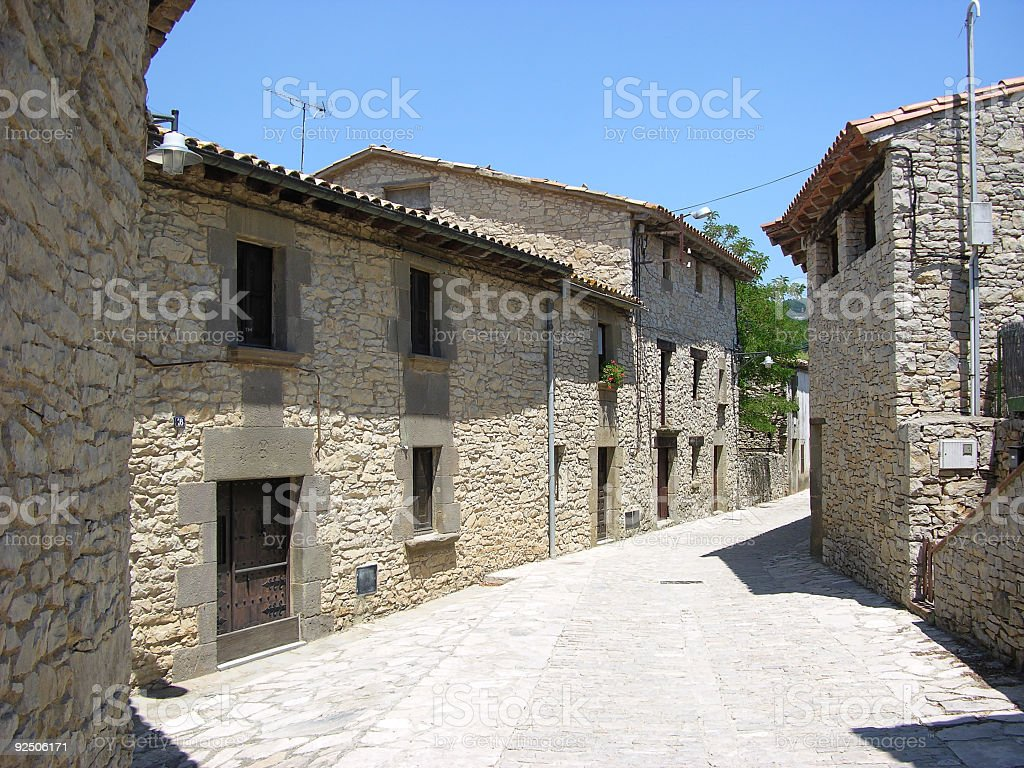 olde spain royalty-free stock photo