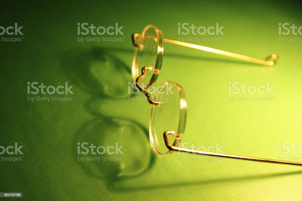 Olde World Specs royalty-free stock photo