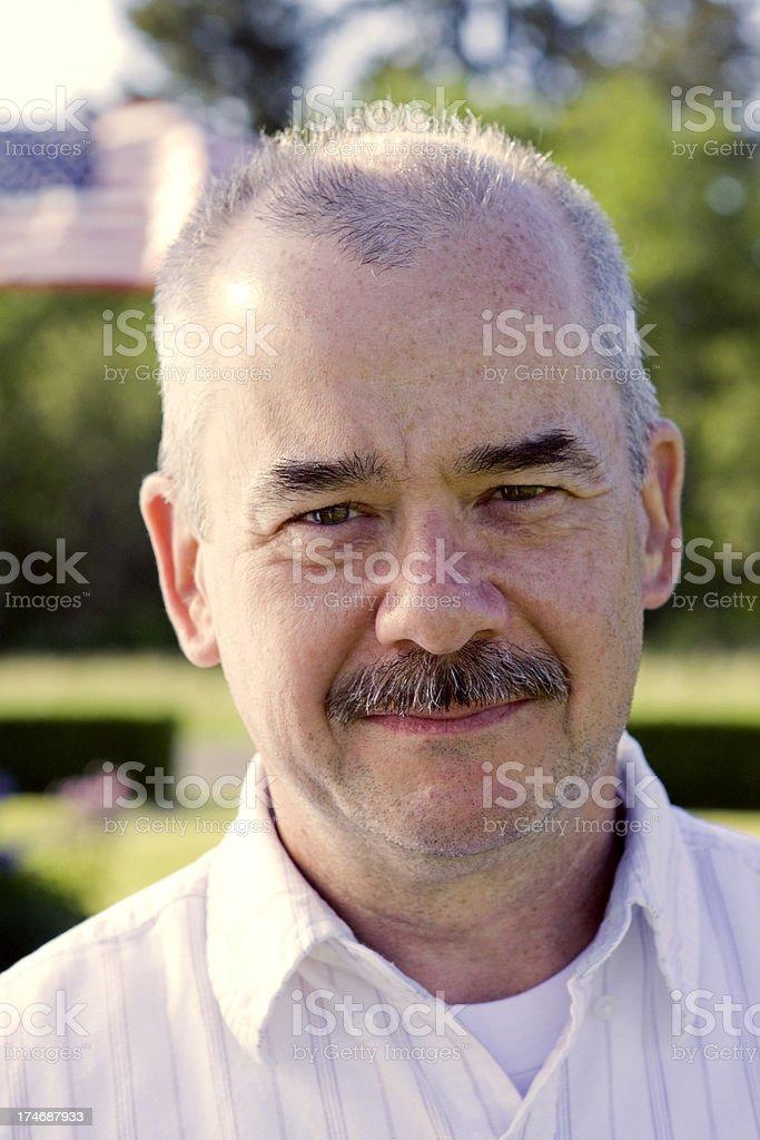 Older American Man royalty-free stock photo