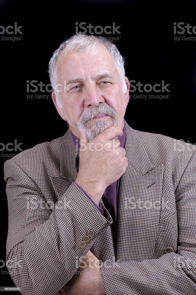 older businessman - Royalty-free Active Seniors Stock Photo