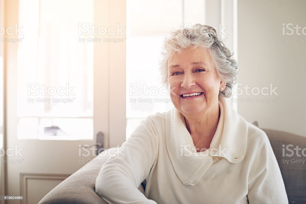Older but wiser and happier than ever before stock photo
