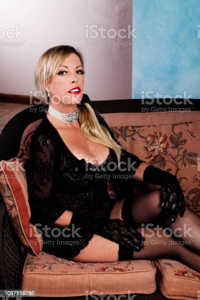 Stockings mature women in NyloNova