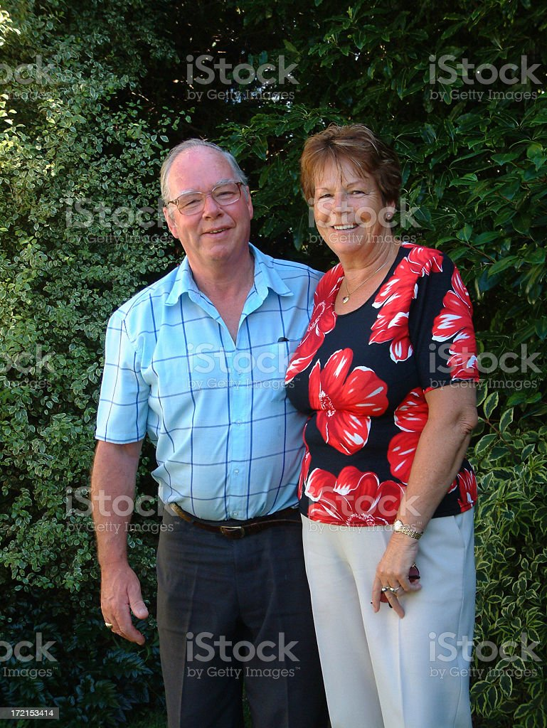Older Couple royalty-free stock photo