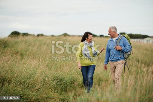 istock Older Generation Out Walking 904162600