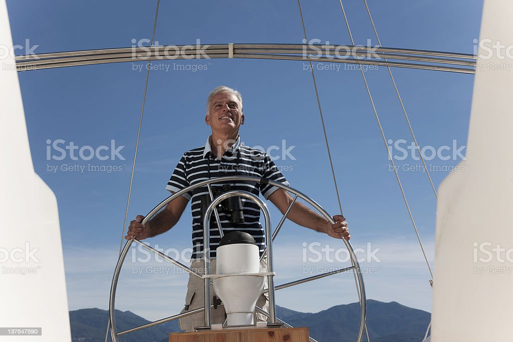 Homme navigation plus - Photo