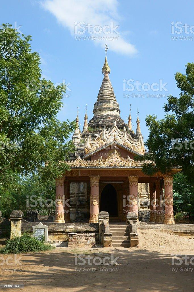 Older Pagoda In Bagan Myanmar stock photo