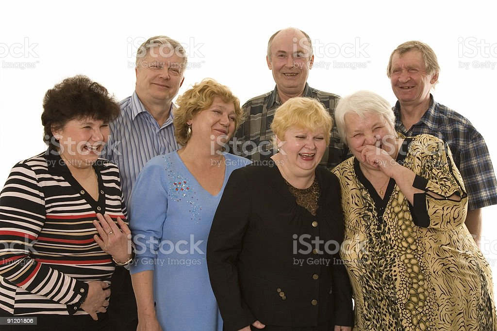 Older persons royalty-free stock photo