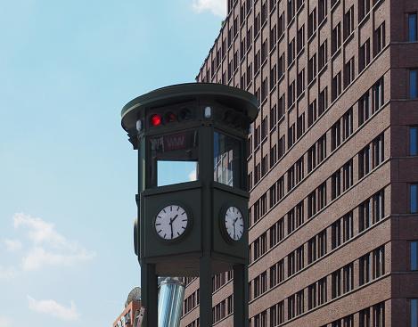 Oldest traffic light in the world, in Berlin