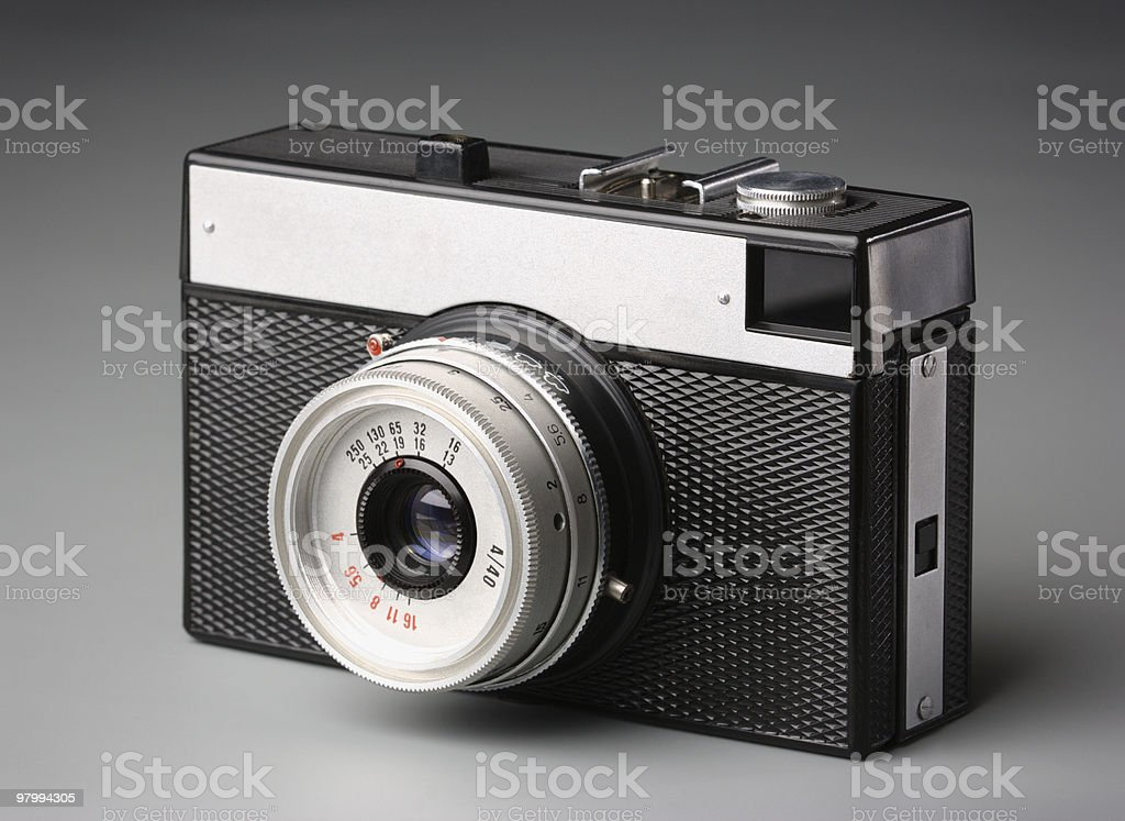 Old-fashion camera royalty-free stock photo