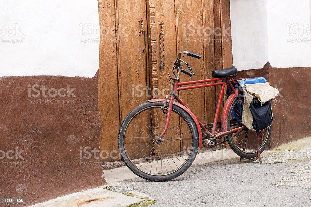 Oldfashioned bicicleta - foto de stock