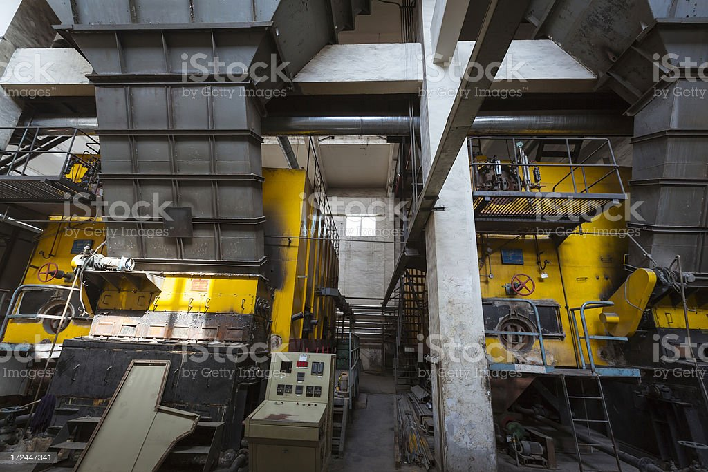 Old-fashioned boiler royalty-free stock photo