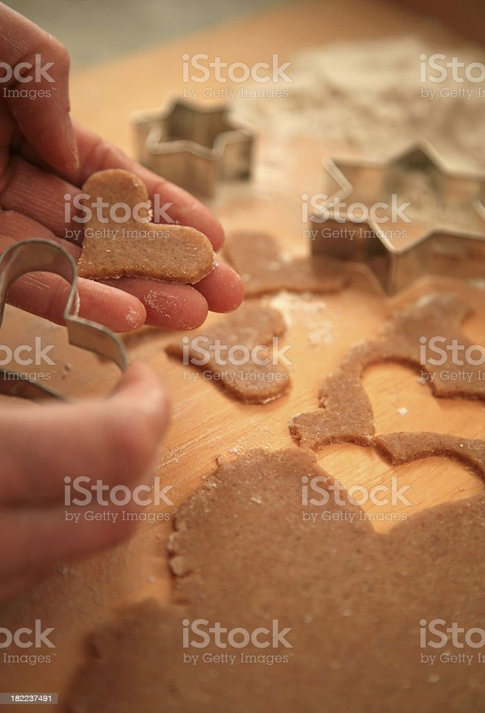 Old-fashioned christmas bakery royalty-free stock photo