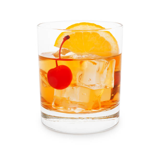 Old-Fashioned Cocktail stock photo