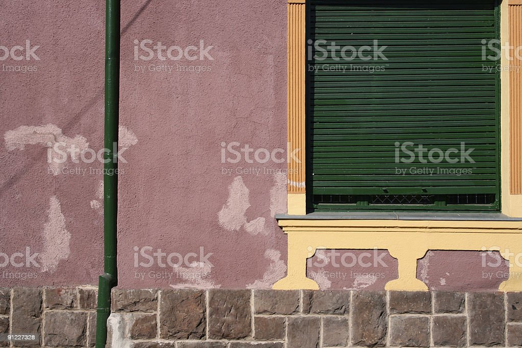 Old-fashioned Exterior stock photo