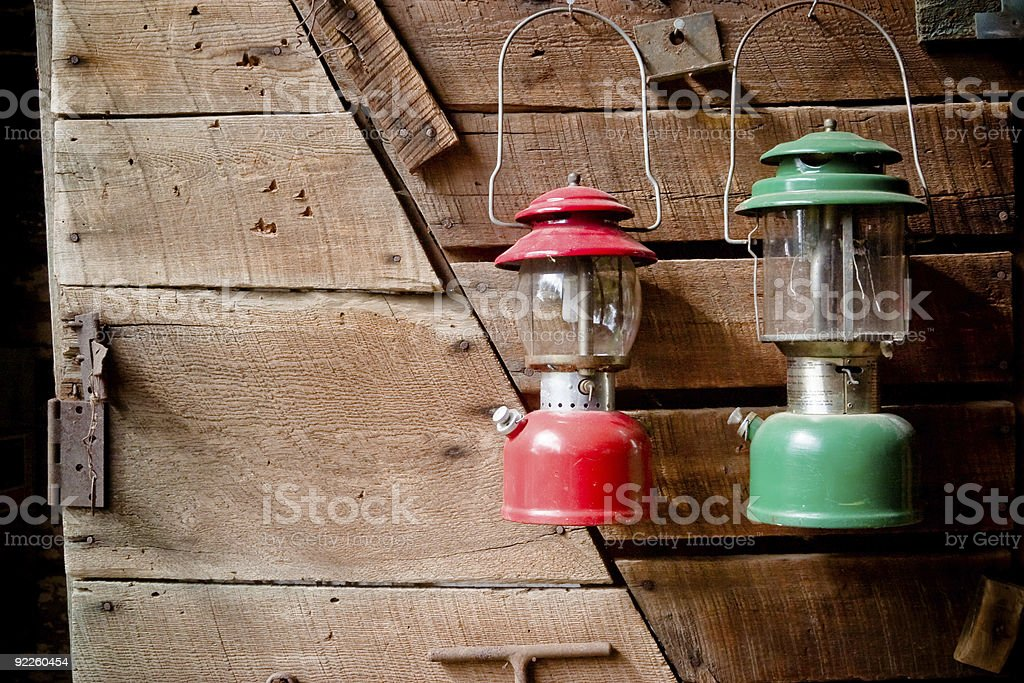 Old-fashioned Lanterns royalty-free stock photo