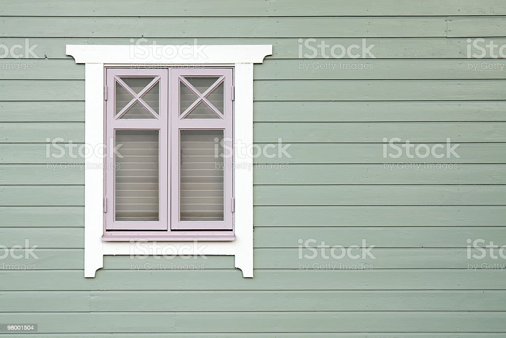 Old-fashioned window royalty-free stock photo